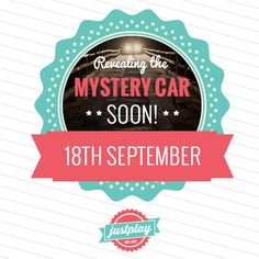 In one week we will be revealing what car we are giving away!!!  Look out for clues on Facebook, Twitter and Pinterest... and in our newsletters!  Are you excited? LIKE and share if you are