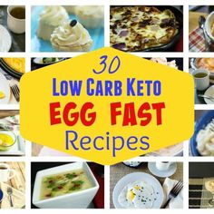 Struggling to lose weight on a low carb diet? An egg fast diet plan may help. Here's 30 egg fast recipes to kick in ketosis quickly to initiate weight loss.