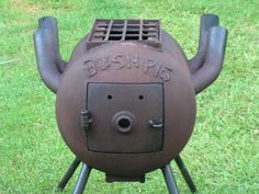 Teds Woodworking® - Woodworking Plans & Projects With Videos - Custom Carpentry Gas Bottle Bbq, Gas Bottle Wood Burner, Wood Stove Heater, Stove Oven, Metal Projects, Welding Projects, Diy Projects, Shop Heater, Camping Cooker