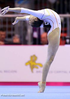 Larisa Iordache of Romania - 2012 European Gymnastics Championships