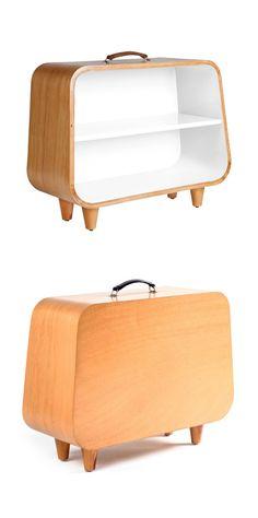 Suitcase Shelf