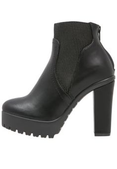 CHUNKY  - Ankelstøvler - black