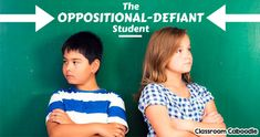 Helping an oppositional-defiant child control behavior can overwhelm teachers. How to love & assist special-needs students.