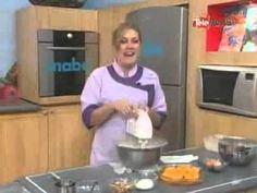 Hoy en la cocina - Lomo de cerdo ahumado con salsa de manzanas - YouTube