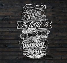 Show me the way... by Mateusz Witczak, via Behance