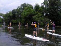 USA TODAY recently featured Asheville as a top 10 destination to try stand-up paddle boarding.