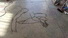 #fildiferro #saldatura #art #egon #schiele #contemporaryart #desinkcoseassurde