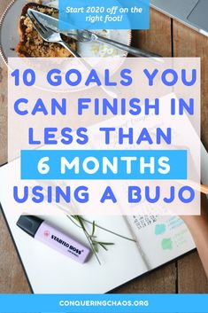 10 Life Goals You Can Accomplish In Less than 6 Months with a Bullet Journal - Conquering Chaos Bullet Journal Contents, How To Bullet Journal, Bullet Journal Tracker, Bullet Journals, Time Management Techniques, Just Saying Hi, Passion Project, Personal Goals, Bullet Journal Inspiration
