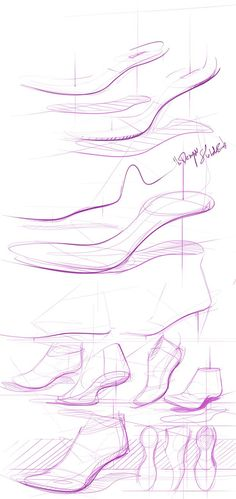 ladies shoes by Chou-Tac Chung