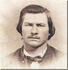 Virgil Walter Earp July 18, 1843 – October 19, 1905..rare photo he was 16. Virgil Earp was the older brother of Wyatt Earp and Tombstone City Marshal at the time of the famous gunfight at the O.K. Corral in 1881. After suffering from pneumonia for six months, Virgil died in the town of Goldfield, Nevada. His remains were sent to Portland, Oregon at the request of his daughter Nellie Jane Bohn and buried at the River View Cemetery, the state's oldest nonprofit cemetery, dating back to 1882.