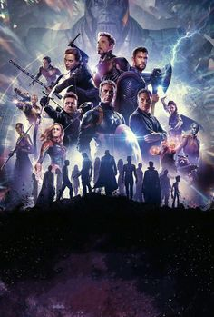 After the devastating events of Avengers: Infinity War, the universe is in ruins due to the efforts of the Mad Titan, Thanos. With the help of remaining allies, the Avengers must assemble once more in Marvel Comics, Marvel Art, Marvel Heroes, Avengers Film, Avengers Cast, Marvel Avengers, Thor Film, Avengers Imagines, Avengers Quotes
