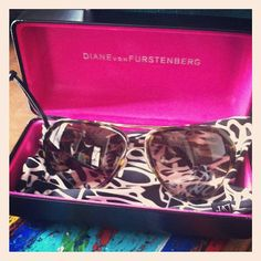 Love my new DVF sunnies!