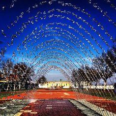 Praça de Toiros vista do Parque Urbano, Vila Franca de Xira Portugal, Mansions, House Styles, Home Decor, Urban Park, Fotografia, Mansion Houses, Room Decor, Villas