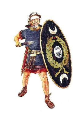 Auxiliary infantry, 2nd half of the 1st century AD.