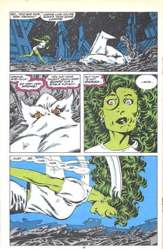 Byrne Robotics: JBF Reading club : The sensational She-Hulk # 7