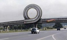Now this is definitely confusing at first! Kudos to Hot Wheels for this billboard :) Find out how you can be even more creative by attending our Social Media Workshop!