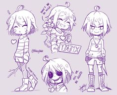 Some Undertale doodles ♥ | See my works |