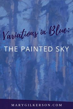 Artists, painting landscapes with beautiful sky views often times means mixing your own blues. This art guide will help you discover the best ways to mix your sky colors with a limited palette. Save this pin and click through to start getting creative! Painting Lessons, Art Lessons, Painting & Drawing, Watercolour Painting, Watercolor Ideas, Watercolor Pencils, Drawing Tips, Boost Creativity, Landscape Paintings