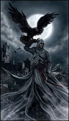 Impresionante dibujo de Altair
