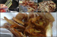 Receita de cascas de batata frita - delícia e um excelente aproveitamento