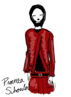 Proenza Schouler New York Womenswear S/S 2013 by Rei Nadal.