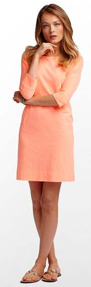 Lilly Pulitzer Cassie Dress- that peachy color is just precious