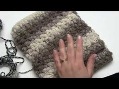 How to Crochet: Split Bullion Stitch and Squish (Right Handed) Tunisian Crochet Stitches, Knit Or Crochet, Crochet Scarves, Crochet Hats, Crochet Afghans, Crochet Videos, Crochet For Beginners, Loom Knitting, Crochet Projects