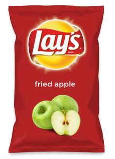 Wouldn't fried apple be yummy as a chip? Lay's Do Us A Flavor is back, and the search is on for the yummiest flavor idea. Create a flavor, choose a chip and you could win $1 million! https://www.dousaflavor.com See Rules.