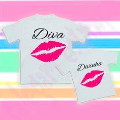 Camiseta tal mãe, tal filha
