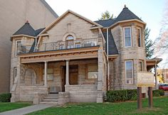 Apartments & Houses for Rent in Bloomington, Indiana Stone Mansion, Washington Street, Indiana University, Two Story Homes, Second Story, Next Door, Story House, Renting A House, Interior And Exterior