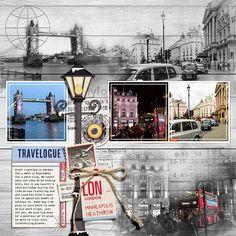 Barbara's Cre8ive Escape: Travelogue: London