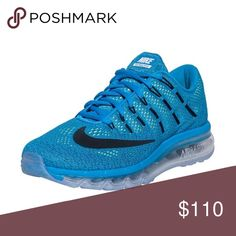 c168a3506e45 2016 Nike AirMax 2016 electric blue air Max s. They were a gift and worn  them