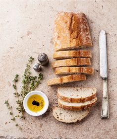 Fresh ciabatta by liskina-nora on Creative Market