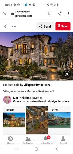 Brick, Exterior, Mansions, House Styles, Things To Sell, Ideas, Design, Home Decor, Stone Cottages