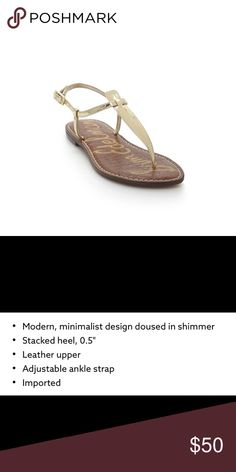aebc29f13 NIB Sam Edelman Gigi Leather Thong Sandals New in Box Sam Edelman Gigi  Leather Thong Sandals