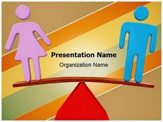 Check out our professionally designed Equality Gender Balance #PPT #template. Get started for your next PowerPoint presentation with our Equality Gender Balance editable ppt template. This royalty free Equality Gender Balance Powerpoint template lets you to edit text and values and is being used very aptly for Equality Gender #Balance, Comparison, #Fairness, #Gender, #Gender Imbalance, #Social #Justice, #Legal, #Love, Marriage, #Separation and such PowerPoint #presentations.
