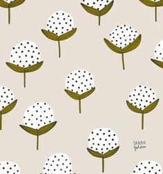Surface pattern design catalogue for artist Sarah Golden.