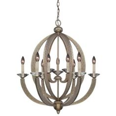 Forum 9-Light Chandelier by Savoy House