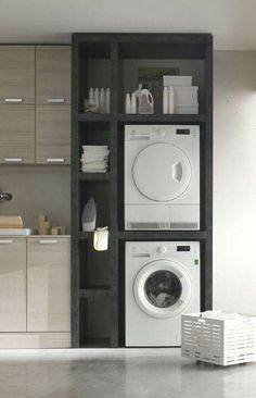 Best 20 Laundry Room Makeovers - Organization and Home Decor Laundry room decor Small laundry room organization Laundry closet ideas Laundry room storage Stackable washer dryer laundry room Small laundry room makeover A Budget Sink Load Clothes Laundry Room Cabinets, Laundry Room Organization, Laundry Room Storage, Laundry Room Design, Organization Ideas, Kitchen Storage, Kitchen Decor, Diy Cabinets, Kitchen Sink