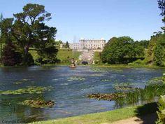 Kasteel en tuinen van Powerscourt, Graafschap Wicklow, Ierland