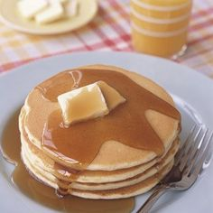 Making Pancakes Recipe Breakfast and Brunch with sugar, all-purpose flour, baking powder, salt, milk, large eggs, vegetable oil