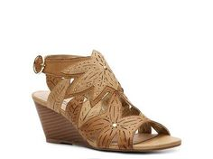XOXO Sahara Wedge Sandal Womens Wedge Sandals Sandals Womens Shoes - DSW