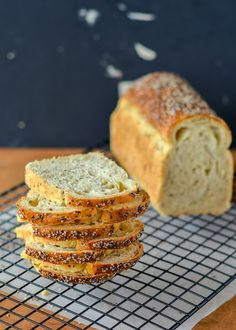 White Spelt Bread with Chai Seeds.