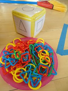 I like this dice. You could use it to construct  a 3D structure. Roll the dice, record your shape, and then add it!