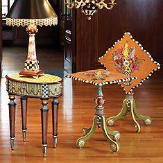 MacKenzie-Childs - Eclectic Furniture Hand Decorated at MacKenzie-Childs
