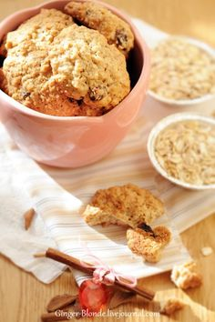 TEST BAKE - Овсяное печенье - Ginger&Blonde