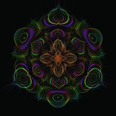 Tapisserie Vadjra Lotus par Luminokaya