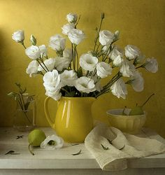 Trendy Ideas flowers photography still life ana rosa Yellow Roses, White Flowers, Beautiful Flowers, Rose Flowers, White Roses, Painting Still Life, Still Life Art, Yellow Cottage, Still Life Photos