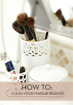 Make sure to clean your makeup brushes regularly and properly!    Visit my site Real Techniques brushes -$10 http://realtechniques.tumblr.com/