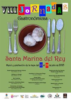 Del 10 al 19 de julio de 2015 se celebra la VIII Jornadas Gastronómicas del Ajo en Santa Marina del Rey